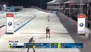 Йоханнес Бевыиграл спринт вНове-Место, россияне— вне топ-15
