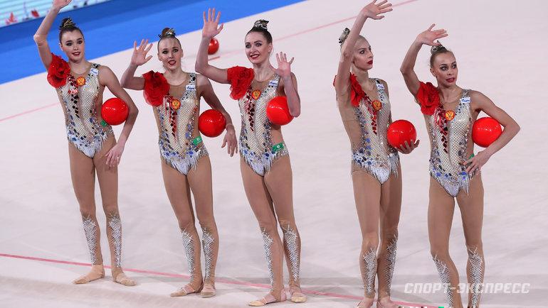 Художественная гимнастика. Фото Федор Успенский., «СЭ»