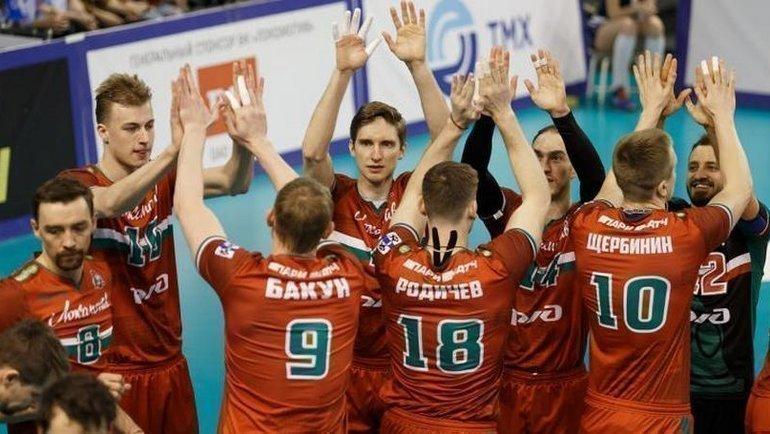 «Локомотив» выиграл регулярный чемпионат. Фото ВК «Локомотив», lokovolley.com