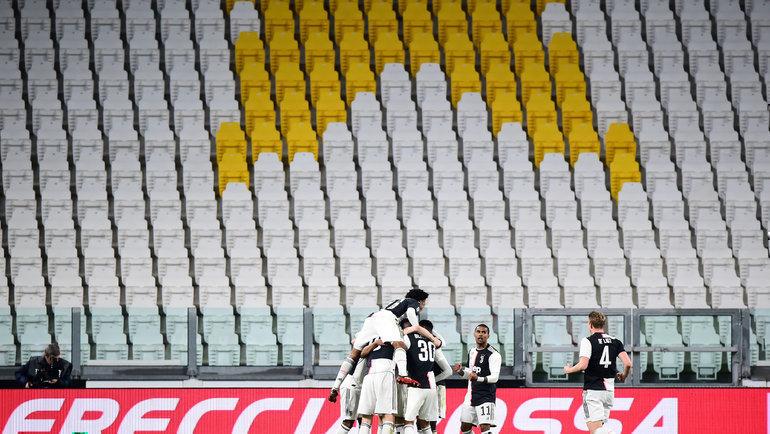 8марта. Турин. «Ювентус»— «Интер»— 2:0. Фото AFP