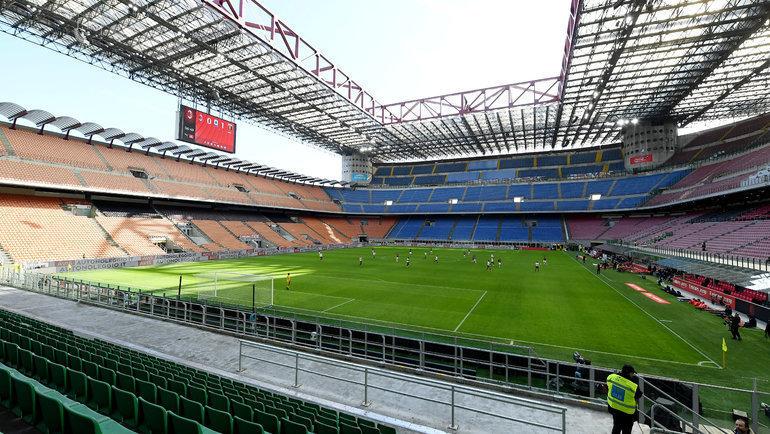 8марта. Милан. Матч «Милан»— «Дженоа» на «Сан-Сиро». Фото Reuters