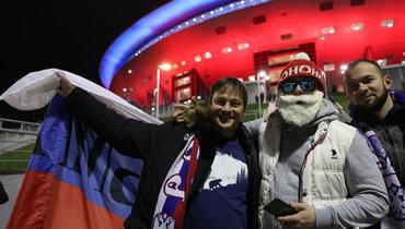Матч Молдавия— Россия пройдет при пустых трибунах