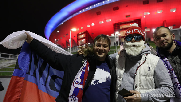 Матч России сМолдавией пройдет без зрителей. Фото Александр Федоров, «СЭ» / Canon EOS-1D X Mark II