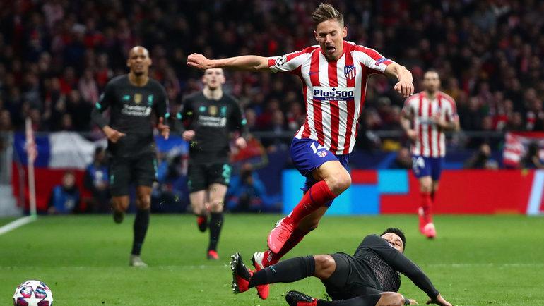 «Ливерпуль»— «Атлетико». Фото Reuters