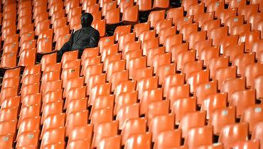 Стадионы мира: без зрителей.