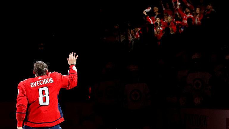 Александр Овечкин иНХЛ: пауза. Фото USA Today Sports