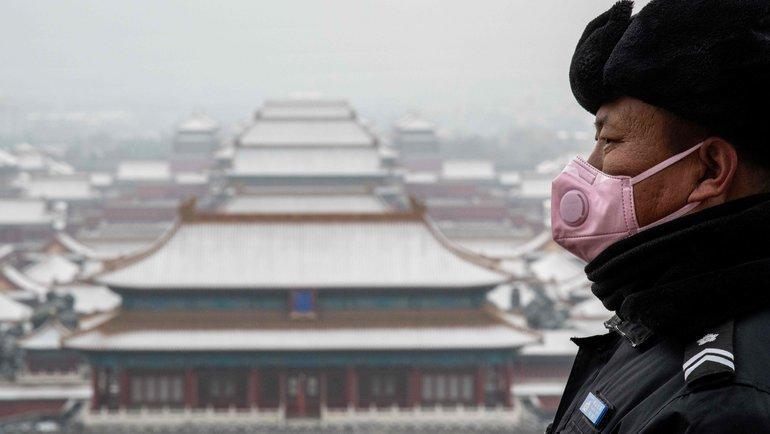 Вид наЗапретный город вПекине. Фото AFP