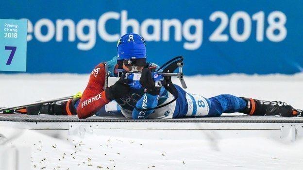 2018 год. Мартен Фуркад. Фото AFP