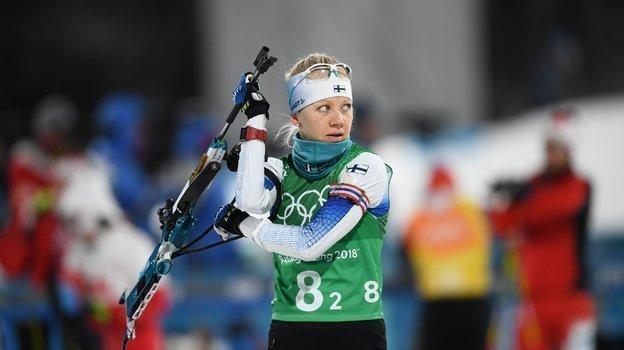 2018 год. Кайса Мякяряйнен наОлимпийских играх. Фото AFP