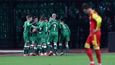 «Рубин» победил «Арсенал» вТуле ипокинул зону вылета