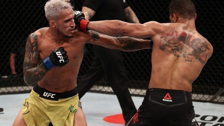Чарльз Оливейра иКевинЛи. Фото MMA Fighting