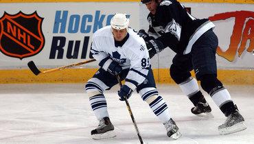 16 лет назад форвард «Торонто» Александр Могильный стал вторым российским хоккеистом, достигшим отметки в1000 очков вНХЛ