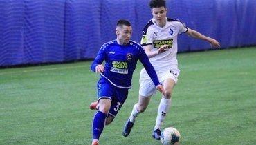 Матч молодежных команд «Тамбова» и «Крыльев Советов».