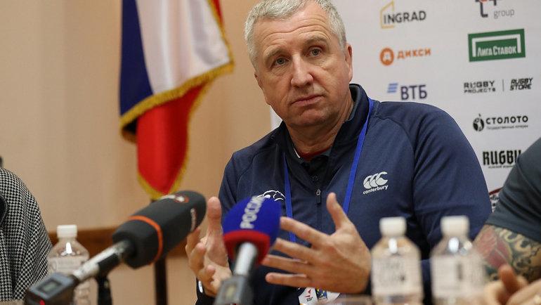Лин Джонс. Фото Федерация регби России.