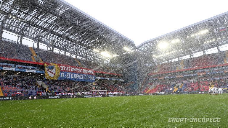 15марта. Москва. ЦСКА— «Уфа»— 0:0.
