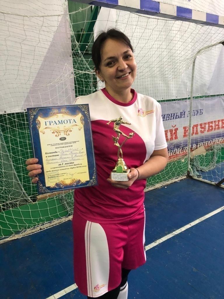 Капитан команды United Mums Елена Суворова.