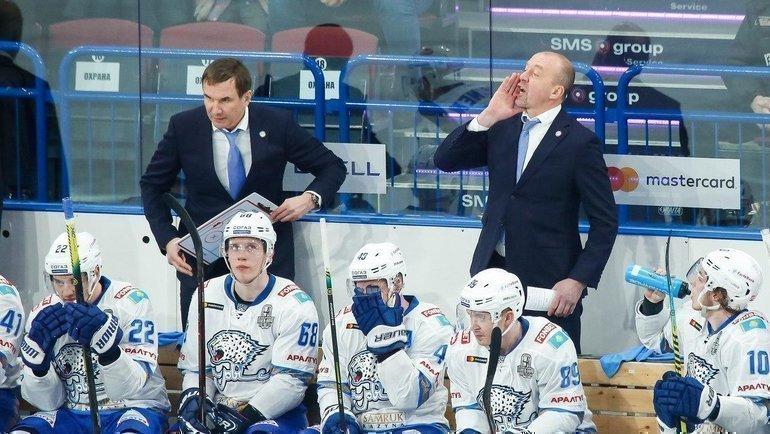 «Барыс» всеже несможет продолжить выступление вплей-офф КХЛ. Фото ХК «Барыс»