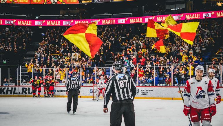 КХЛ может приостановить проведение плей-офф из-за коронавируса. Фото ХК «Йокерит»