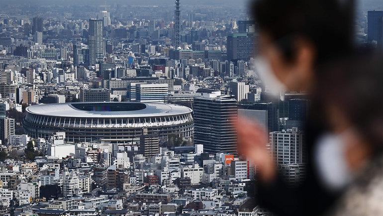16марта. Новый олимпийский стадион Токио.
