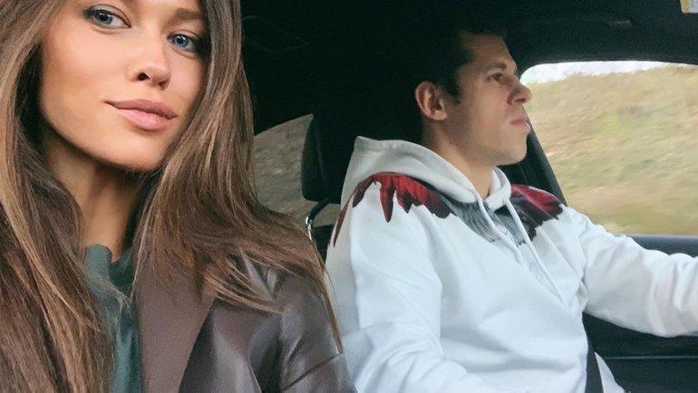 Анна Кастерова иЕвгений Малкин. Фото Instagram Кастеровой