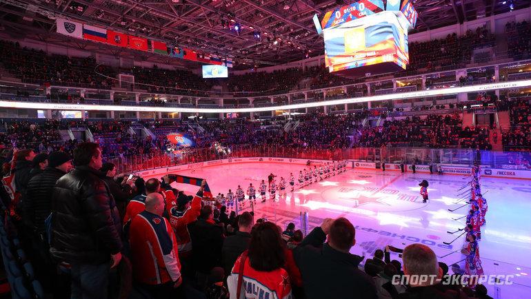 Хоккей вРоссии: пауза отложена. Фото Федор Успенский, «СЭ» / Canon EOS-1D X Mark II
