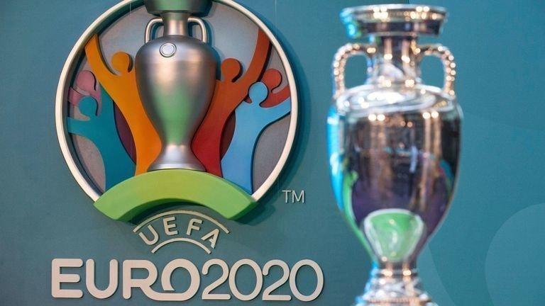 Главный трофей чемпионата Европы. Фото Sky Sports.