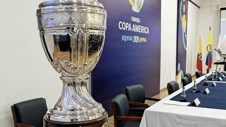 Кубок Америки-2020 пройдет в2021 году. Фото КОМНЕБОЛ