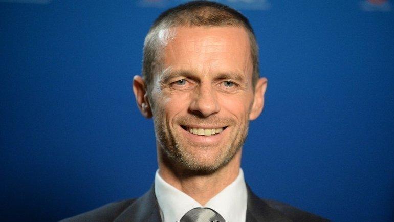 Президент УЕФА Александер Чеферин. Фото УЕФА.