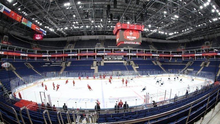 12марта. Москва. Стадион «ЦСКА Арена». Фото ХК «Динамо» Москва