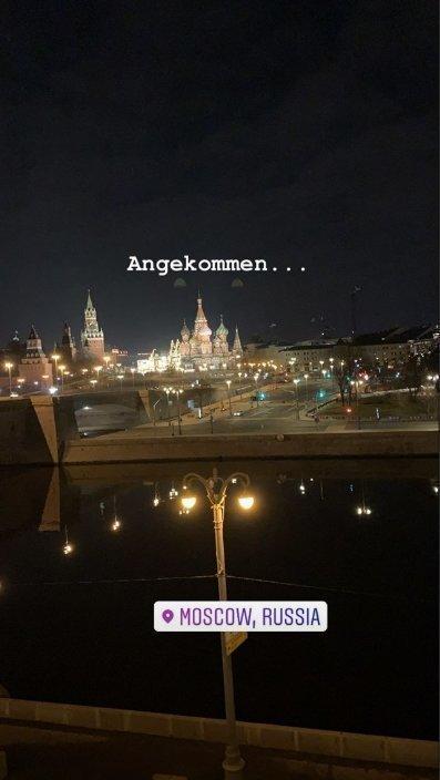 Нападающий «Спартака» Андре Шюррле прилетел из Германии в Москву. Фото instagram.com/andreschuerrle