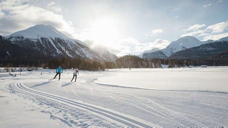 Лыжные гонки. Фото stmoritzswitzerland.travel.