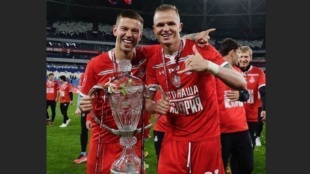 Федор Смолов и Дмитрий Тарасов. Фото instagram.com