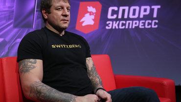 Емельяненко— про критиков его дружбы сКадыровым: «Ихизнутри съедает»