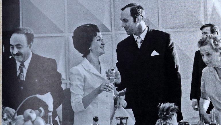 Свадьба Валерия Брумеля иЕлены Петушковой. Фото Изличного архива