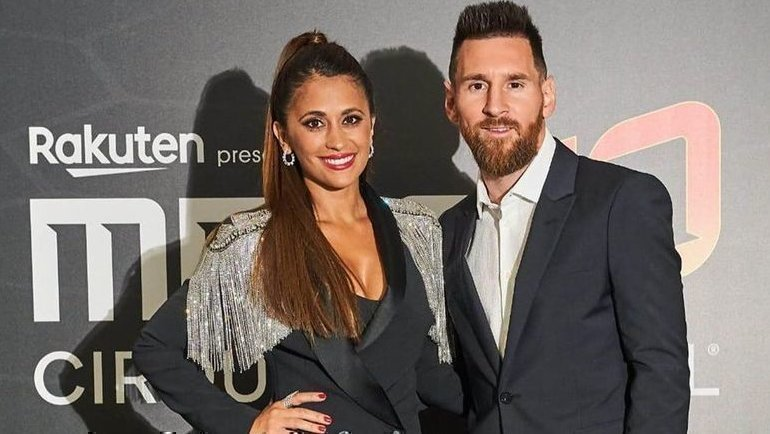 Антонелла Рокуццо и Лионель Месси. Фото Instagram