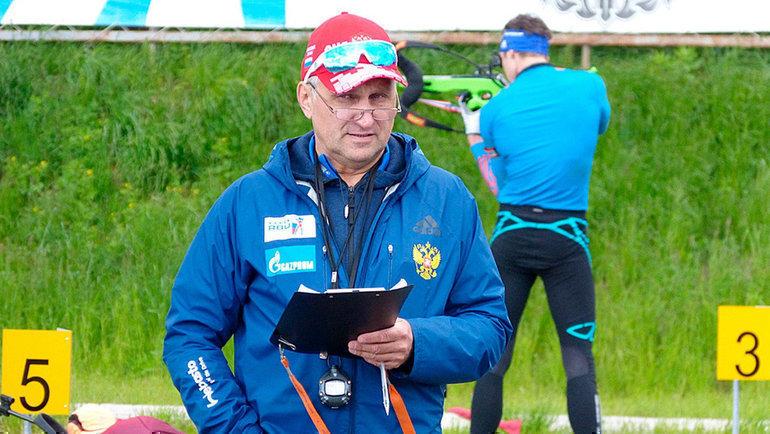 Старший тренер мужской сборной России Сергей Белозеров. Фото СБР