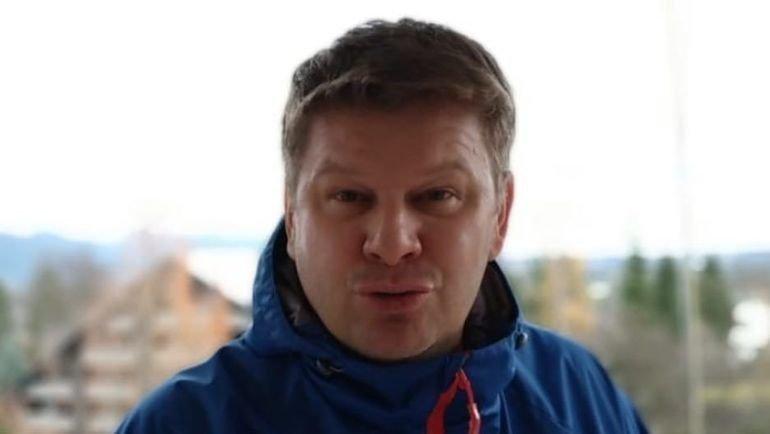 Дмитрий Губерниев. Фото Instagram комментатора.