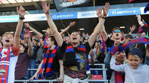 Болельщики ЦСКА заполняют стадион чуть больше чем на 50 процентов, и это далеко не идеально. Фото Александр Федоров, «СЭ» / Canon EOS-1D X Mark II