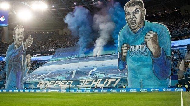 В Санкт-Петербурге — крупнейший стадион в лиге, единственная команда в крупном городе и развлекательные программы для зрителей. Результат — уверенное первое место. Фото ФК «Зенит»