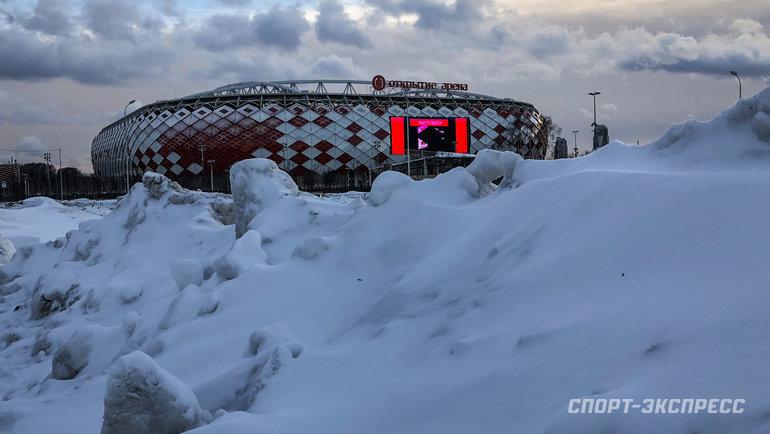 Стадион «Открытие Арена». Фото Дарья Исаева, «СЭ»