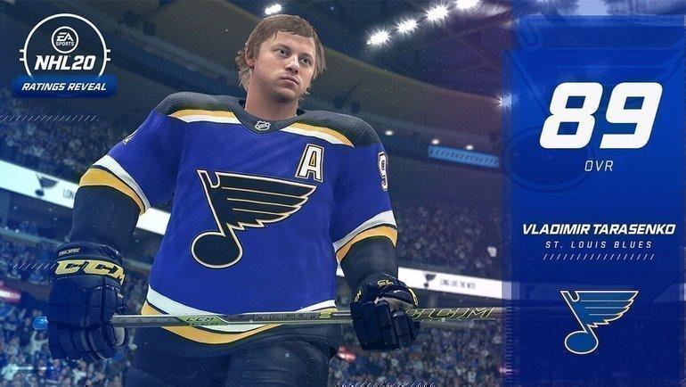 Владимир Тарасенко. Фото EASports