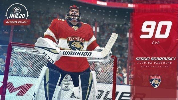 Сергей Бобровский. Фото EA Sports