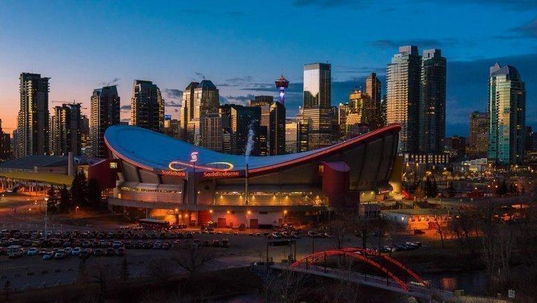 Стадион «Калгари». Фото НХЛ