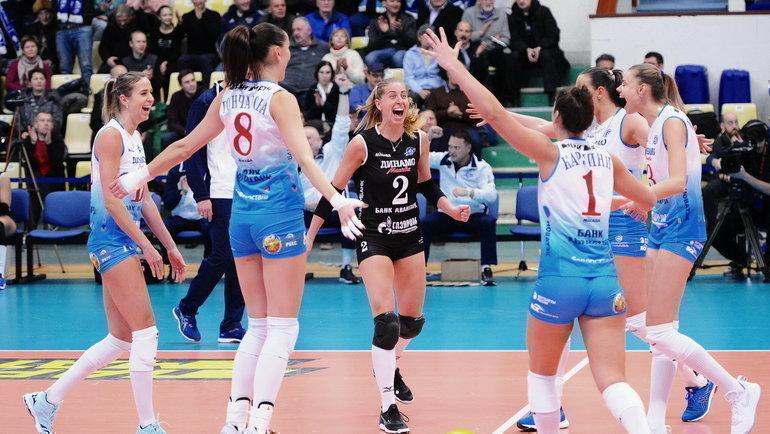 ВК «Динамо» Москва. Фото vmsport.ru.
