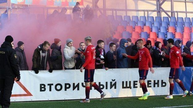 Белорусский футбол сегодня вне конкуренции. Воспользуетсяли онэтим, чтобы нарастить базу болельщиков? Фото vk.com/fcminsk_official