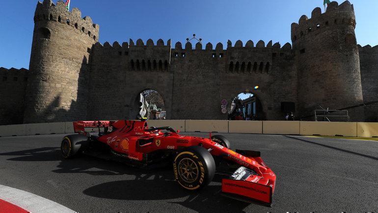 «Гран-при Азербайджана». Фото Reuters