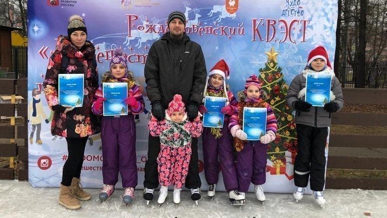 Екатерина Антонова ссемьей.