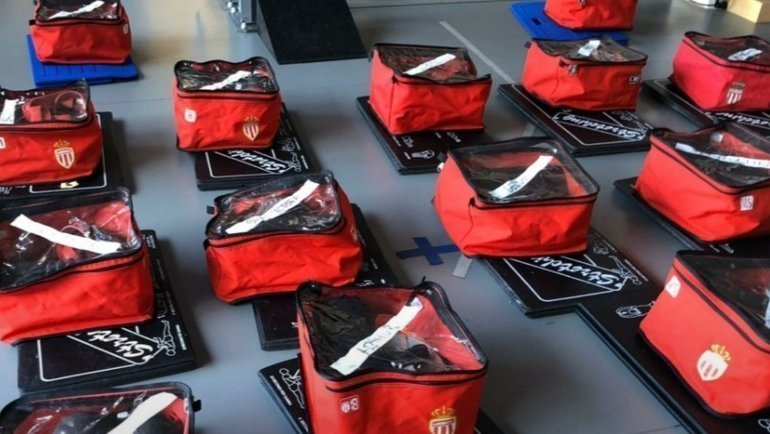 Специальные наборы для игроков «Монако».