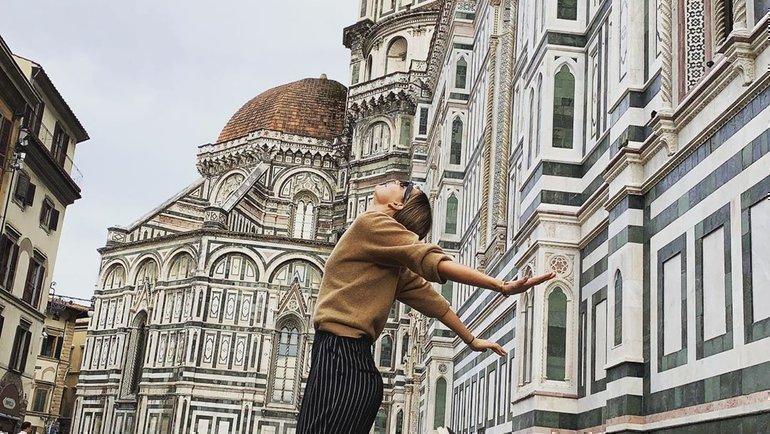 Мария Шарапова воФлоренции. Фото Instagram