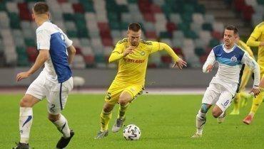 Вчемпионате Белоруссии продолжают футбольный чемпионат, несмотря накоронавирус.